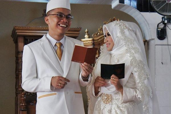 Akad Nikah Hani & Aznil