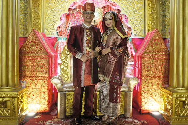 Resepsi Hani & Aznil