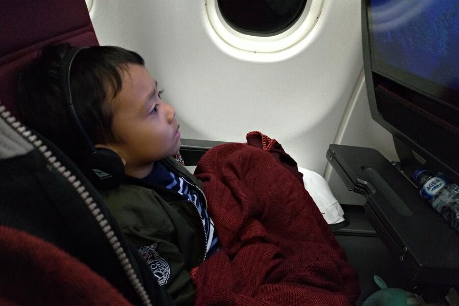 penerbangan jakarta-auckland