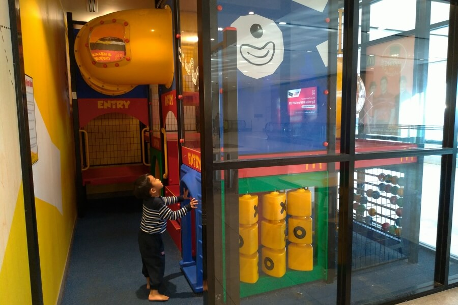 playground di sydney airport