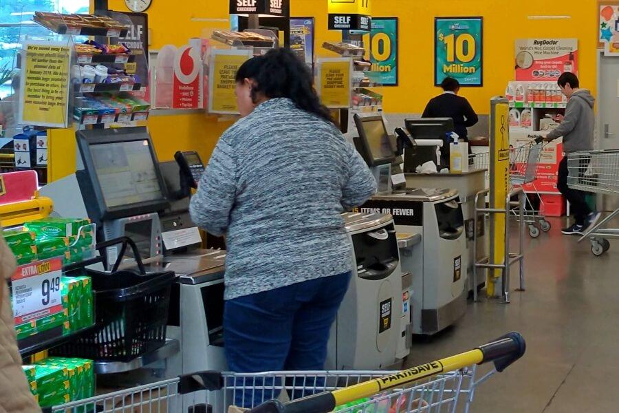 pembayaran dengan self checkout