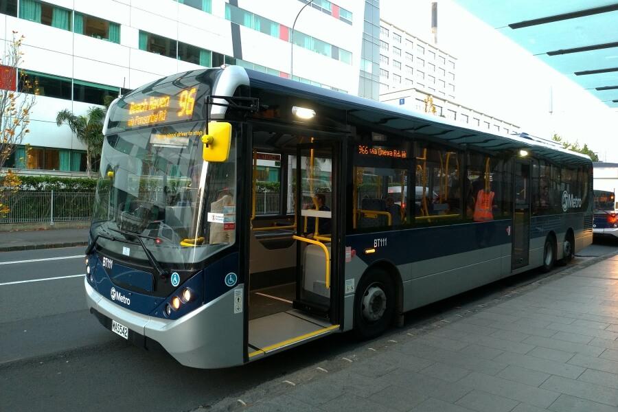 bus di auckland