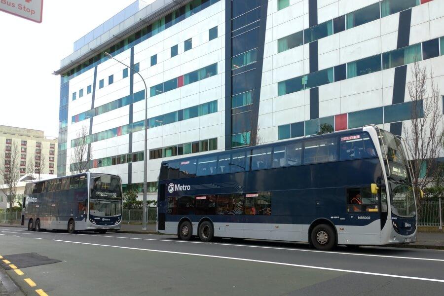 bus double decker auckland