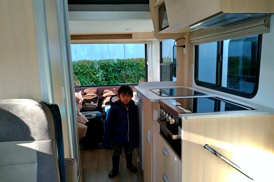 interior campervan