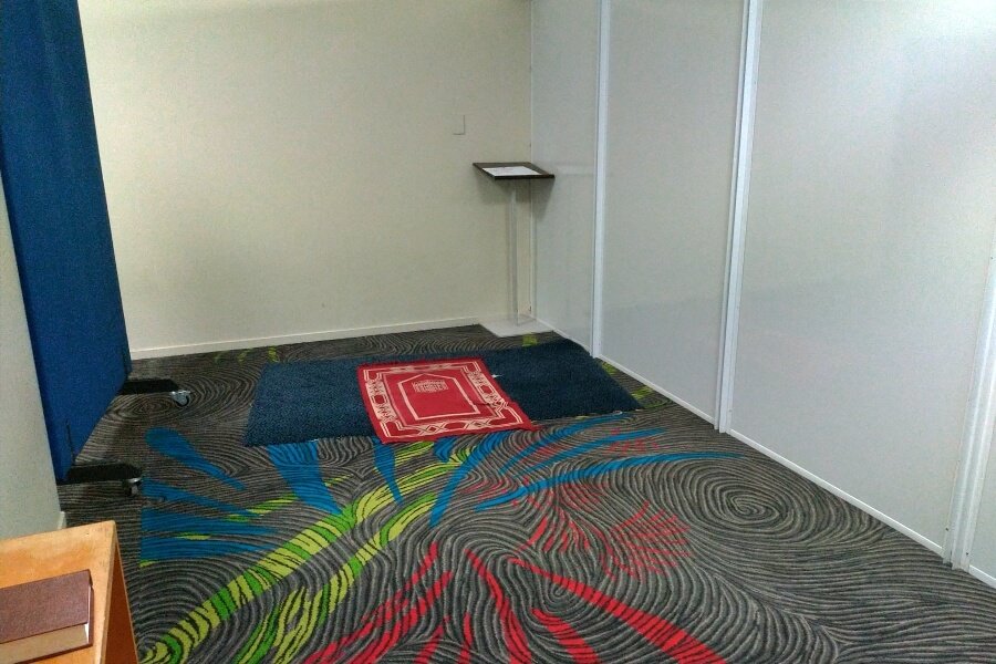 auckland airport prayer area
