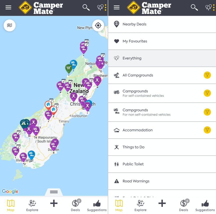 review aplikasi campermate untuk road trip