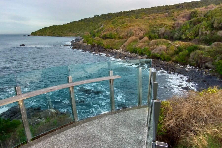 viewing platform di stirling point bluff