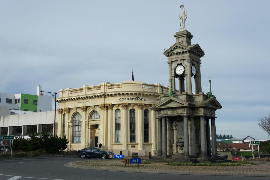 boer war memorial invercargill
