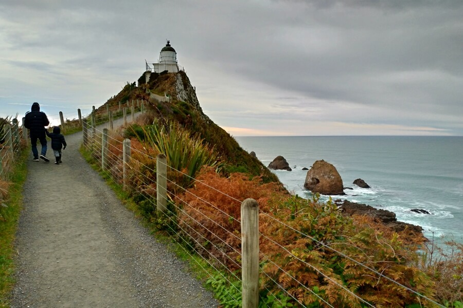 Nugget Point Lighthouse New Zealand