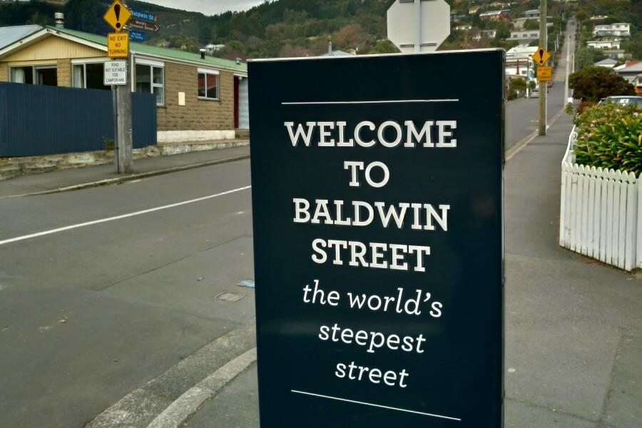 berkunjung ke baldwin street dunedin