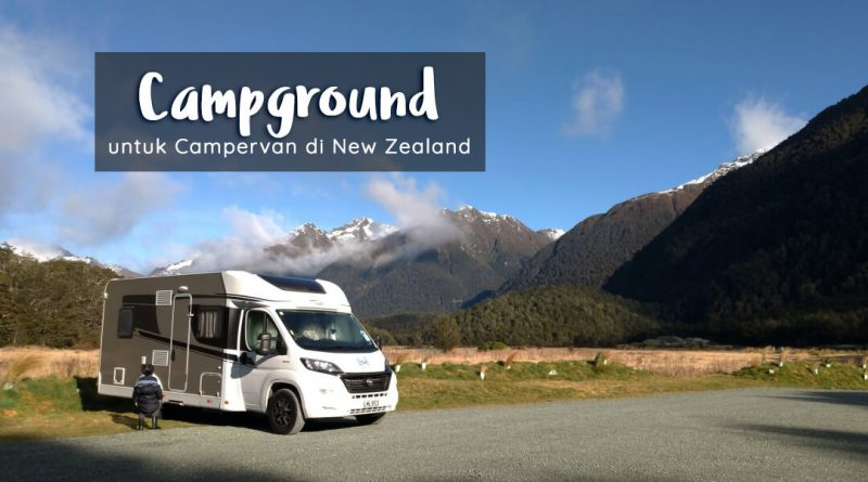 campground untuk campervan di new zealand
