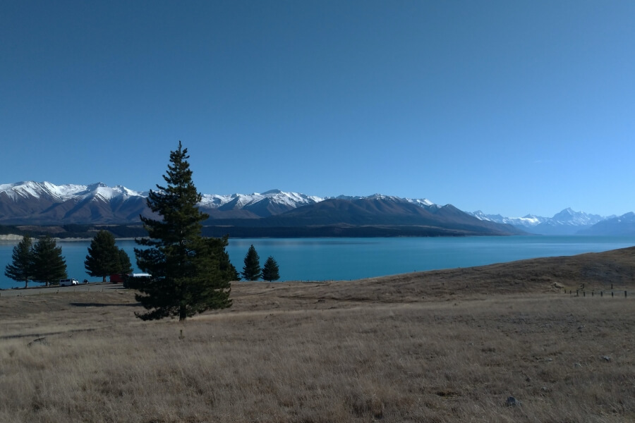 Lake Pukaki Reserve, campground dengan view terbaik di New Zealand
