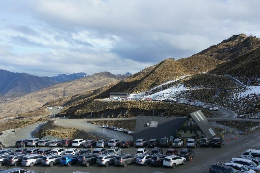 parkiran coronet peak