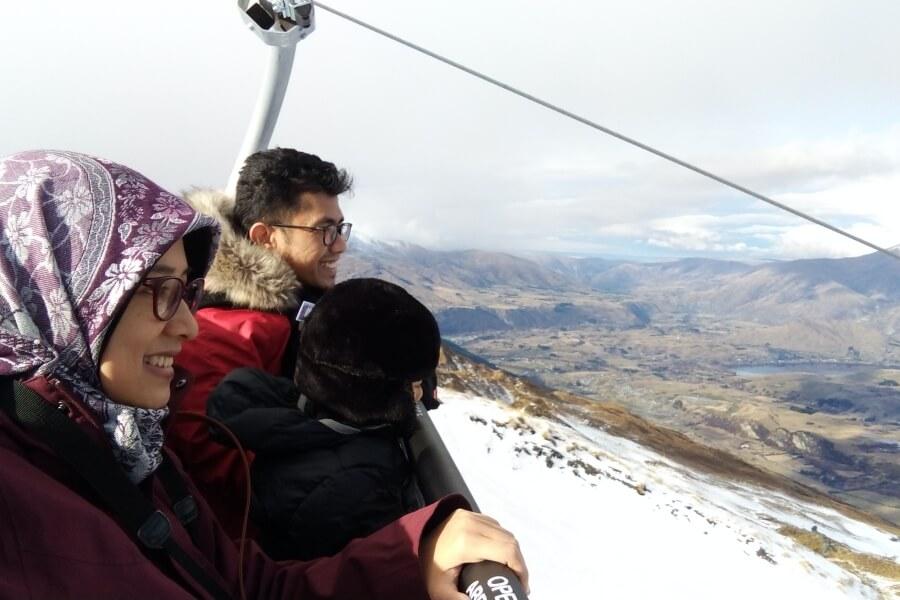 chairlift di coronet peak