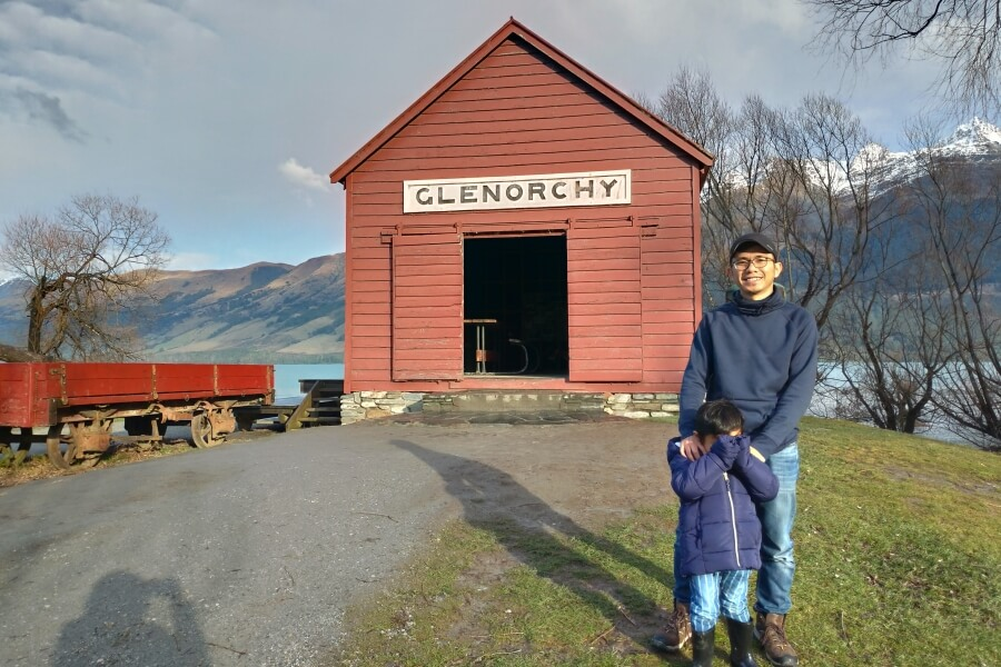 glenorchy wharf shed