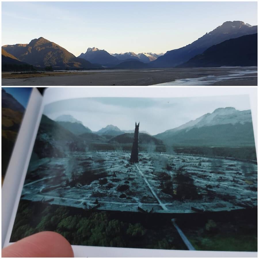 isengard di film vs di dunia nyata