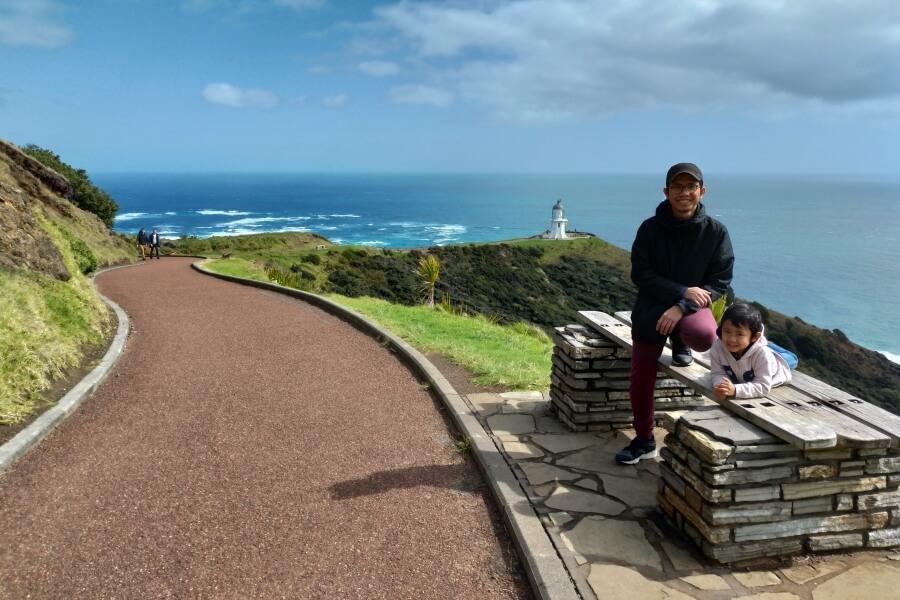 menuju cape reinga lighthouse