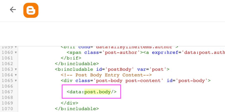 kode untuk menampilkan daftar isi blogspot