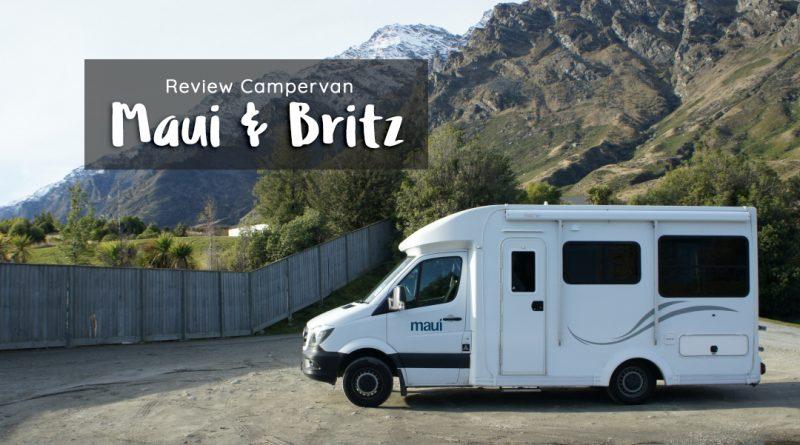 review campervan maui dan britz